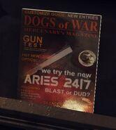 Aries 24-7 в журнале