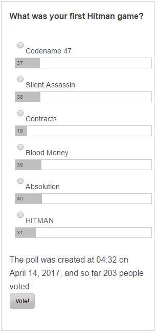 Poll 4 - 6-14-17