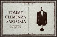 Symbol of Tommy's Tailor Shop