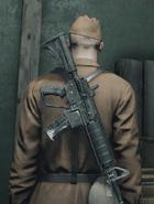 Fusil G1-4 за спиной ГГ