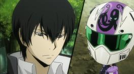 -Hibari Paired With Skull