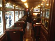 Hong Kong Tramways 68(Tour Tram) compartment 4