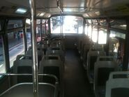 2000s tram compartment