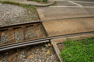 LRT Track Yau Oi Rd Exit