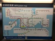 MTR Route map before XRL begining 20-09-2018