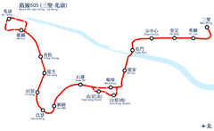 LR 505 system map