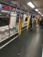 MTR M Train new handrail 09-11-2017