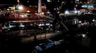 (正規大媒冇人跟?)2019年9月17日晚上,東鐵綫某卡列車吊回路軌過程(部分片段)