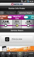 MTR mobile station hrs
