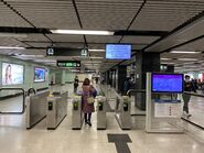Diamond Hill Kwun Tong Line entry gate 14-02-2020