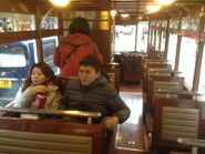 Hong Kong Tramways 68(Tour Tram) compartment 3