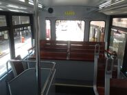 Hong Kong Tramways 88 upper deck end of chair