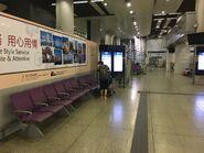 Hung Hom Intercity Through Train waiting area 1