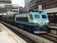 SS80156(Z809 departure) Guangdong-Kowloon Through Train(Guangzhou Railway (Group)) 07-10-2017