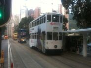 Hong Kong Tramways 91 from Victoria Park to Admiralty Station