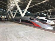 CR400AF-A-2066 G6537(Guangzhounan to Hong Kong West Kowloon) 28-06-2019