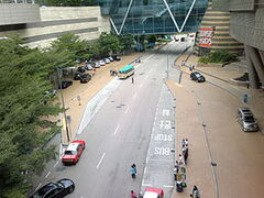 Cyberport Road near Cyberport Arcade