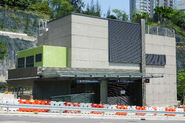 Exterior of Ho Man Tin Station entrance and exit A2
