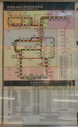 Light Rail route map and single ride ticket fare zone