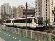 1128 plus 1112(135) MTR Light Rail 705 17-03-2020