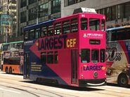 Hong Kong Tramways 95(024) Happy Valley to Kennedy Town 15-06-2019