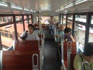 Hong Kong Tramways 88 upper deck