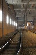 LRT 600 Rail exit