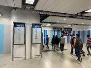 Admiralty L5 escalator to Platform 3 and 4 21-02-2020