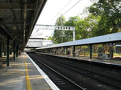 Fanling Station Platform