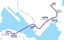 TKL system map (2002)