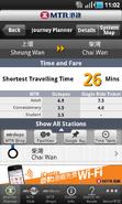Mtr mobile journey planner 2