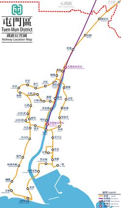 Tuen Mun District Map