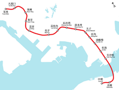 TWL system map