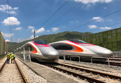 Hongkong-vibrant-express-high-speed-train