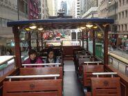 Hong Kong Tramways 68(Tour Tram) compartment