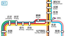 LR Fare Zone 3 map