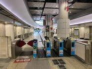Hung Hom exit gate 07-03-2020
