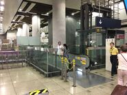 Hung Hom Intercity Through Train waiting area 28-06-2019