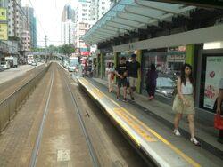 Tai Tong Road platform