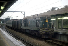 KCR Train to Wo Hop Shek