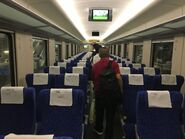 China Railway Hung Hom to Guangzhoudong compartment 1