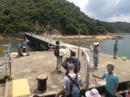 Lai Chi Chong Pier passengers alighting