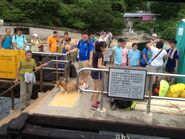 Tung Lung Chau Public Pier passengers waiting ferry 02-07-2016