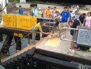 Tung Lung Chau Public Pier passengers waiting ferry 02-07-2016 2