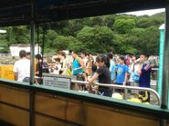 Tung Lung Chau Public Pier passengers waiting ferry 02-07-2016 3