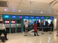 China Ferry Terminal CKS counter