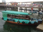 M50088K Sai Kung to Half Moon Bay right hand side boat body