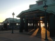 Disneyland Ferry Pier West Concourse