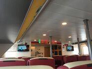 YU ZHU HU Kowloon to Guangzhou Nansha and Lianhuashan 1st class compartment 4 10-07-2019