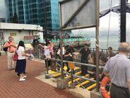 Passengers abord AQUALUNA II in Hung Hom Public Pier